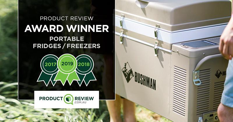 Bushman Fridges Brand Image
